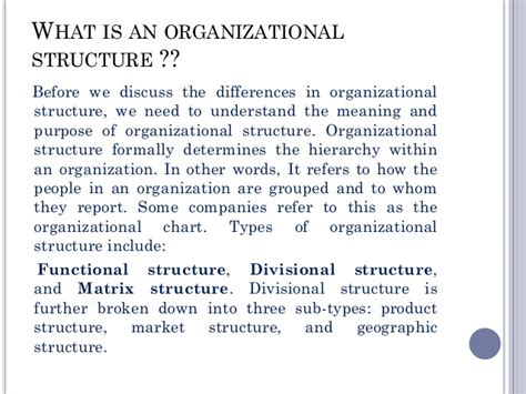 functional  divisional strucure   organisation
