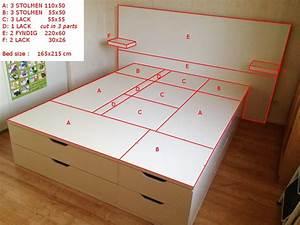 Ikea Hacks Podest : put together a stolmen 165x215 cm bed with storage ikea hackers ~ Watch28wear.com Haus und Dekorationen