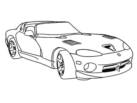 the best place for coloring page at coloringsky part 30 430 | Racing Car Dodge Viper Coloring Pages