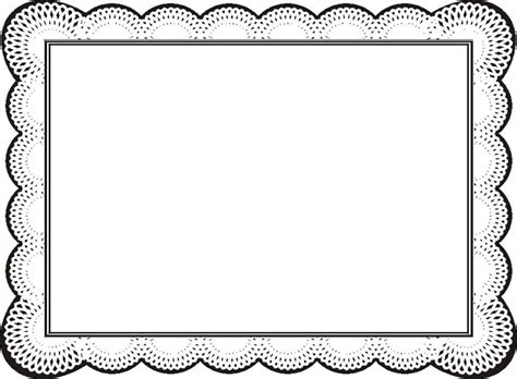 certificate borders  word clipart  frames