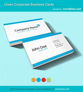 free corporate business card psd template psd box With business card presentation template psd