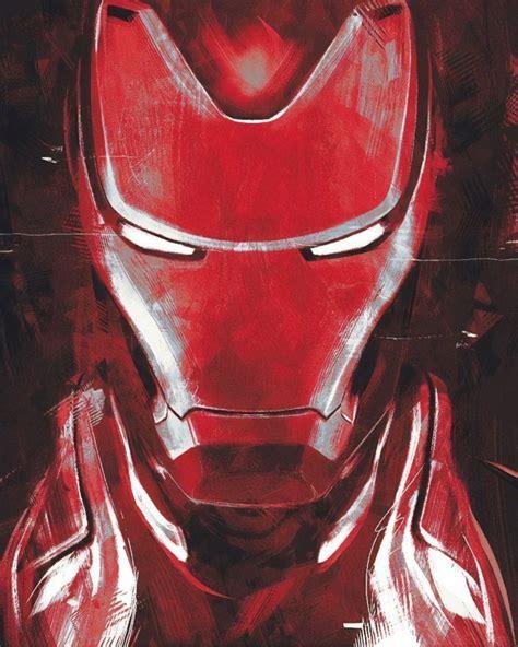 wallpaper avengers endgame iron man artwork