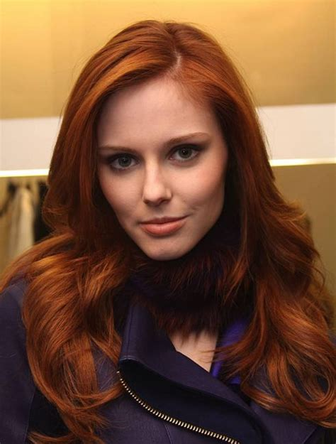 medium auburn hair color how to find hair color for your skintone