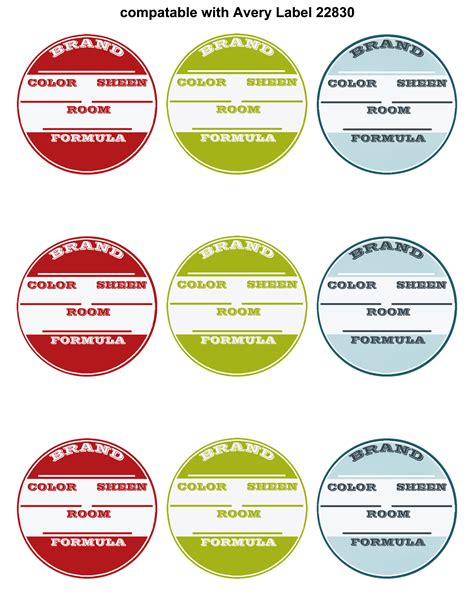 free printable jar labels template 7 best images of printable number labels free printable table numbers circle with numbers 1