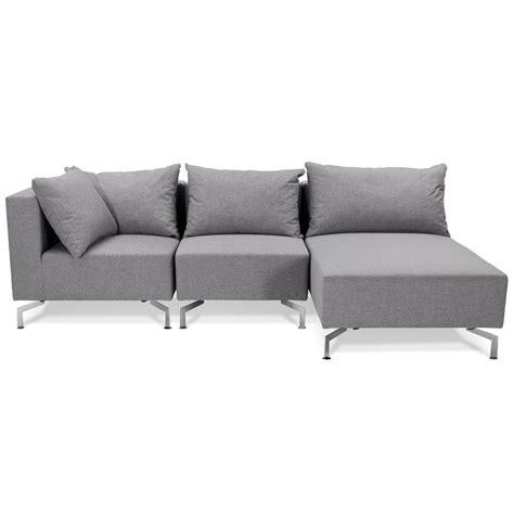canapé voltaire canapé d 39 angle voltaire l shape gris canapé modulable
