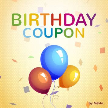 birthday coupon birthday coupon for magento 2 by neklo