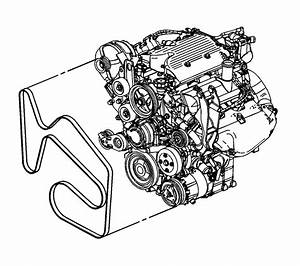 2003 Chevy Impala Serpentine Belt Diagram