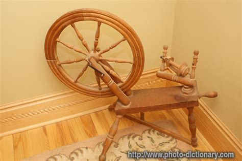 spinning wheel photopicture definition  photo