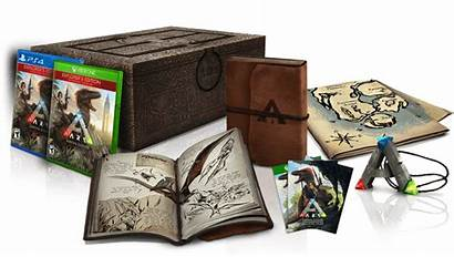 Ark Survival Evolved Edition Collector Collectors Leaves