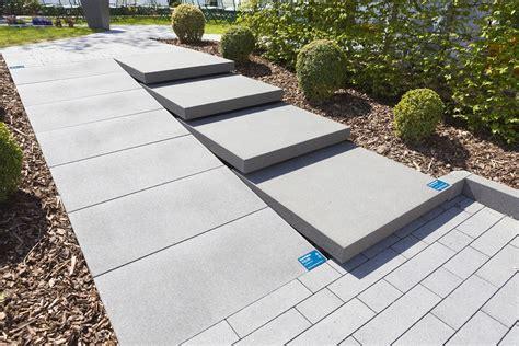 rinn signo platten signo platten rinn betonsteine und natursteine mauer pflastersteine gartentreppe