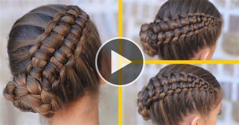TRENZA ESTILO CREMALLERA   Hairfeed   Hair&Peinados Videos
