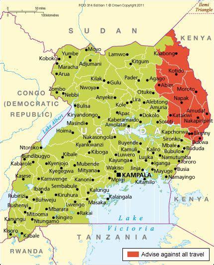 uganda travel advice  thereseen