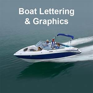 boat lettering decals levelings With boat lettering and graphics