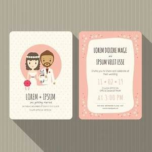 wedding card vectors photos and psd files free download With create funny wedding invitations online free