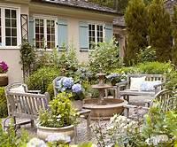 lovely garden patio design ideas pictures Gravel Patios
