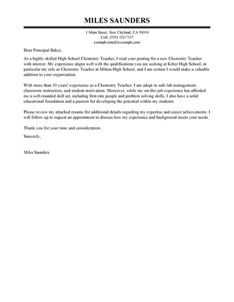 education cover letter examples livecareer
