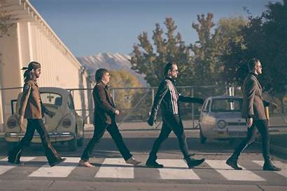 Imagine Dragons Abbey Road Beatles Wallpapers Gold