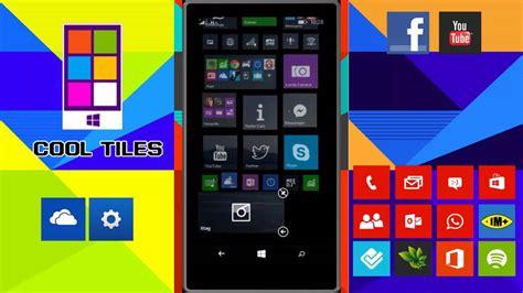 Cool Tiles  Personaliza Tu Windows Phone 8, 81, 10 Youtube