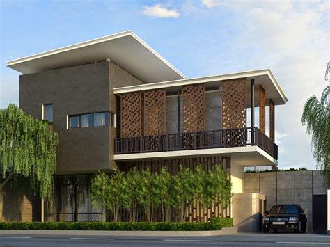 desain rumah tingkat minimalis  modern  kontemporer