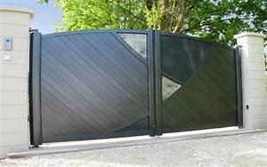 Portail Alu En Kit : portail alu messimy atelier de l 39 aluminium ~ Edinachiropracticcenter.com Idées de Décoration