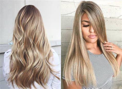 Balayage Blonde Hair Colors 2017 Summer