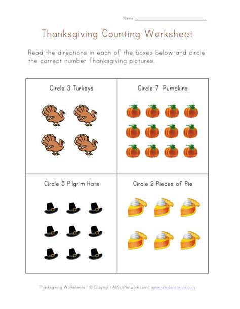 thanksgiving worksheets for preschoolers thanksgiving