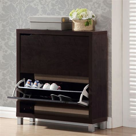 baxton simms shoe cabinet baxton simms brown cabinet brown wood shop