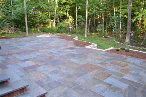 fieldstone patio fieldstone patio with brick border oberndorfer landscape development inc mequon wisconsin
