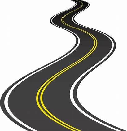 Road Vector Clip Illustrations Vectors