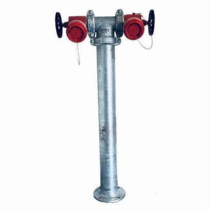 Hydrant Riser Head Twin Standard Valve Pipe