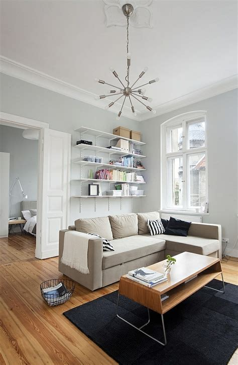 Wohnzimmer Einrichten Farben kleines wohnzimmer einrichten 20 ideen f 252 r mehr ger 228 umigkeit
