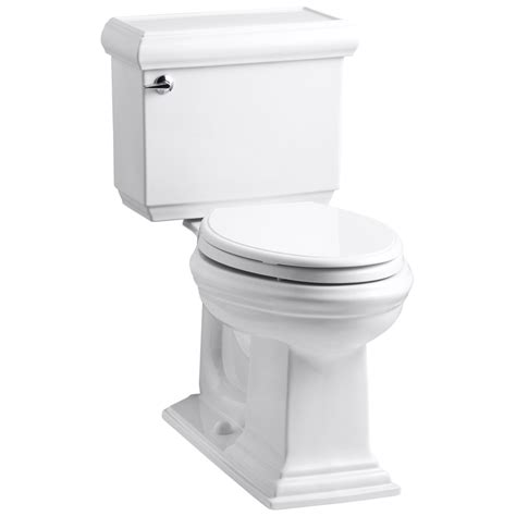 Shop Kohler Memoirs White Elongated Chair Height 2piece