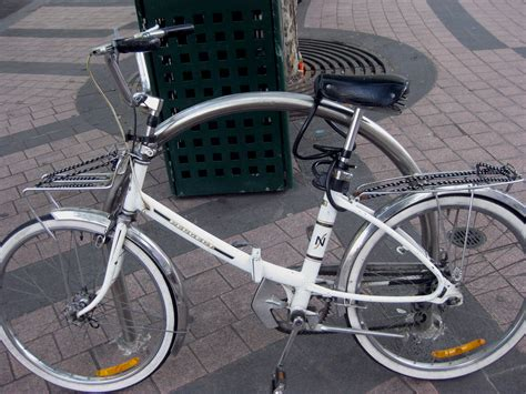 Peugeot Folding Bike by Rescues Folding Peugoet From Rubbish