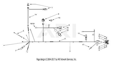 mtd avp  parts diagram  electrical wiring