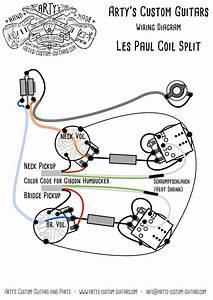 Les Paul Coil Split Prewired Kit Mit Bumblebee Caps In 2019