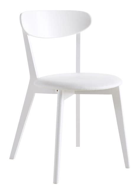 chaise blanc et bois chaise de cuisine contemporaine en bois blanc laqué lot