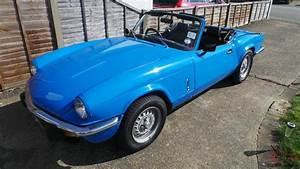 1980 Triumph Spitfire 1500 Blue