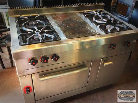 morice cuisine fourneau professionnel 4 feux vifs plaque coup de feu