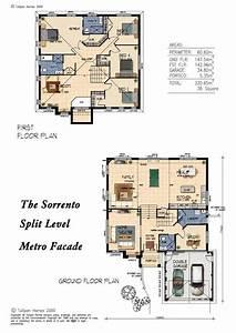 Sorrento, Mk5, Split, Level, Metrofacade, 35, Square, Version, Home, Design, Tullipan, Homes