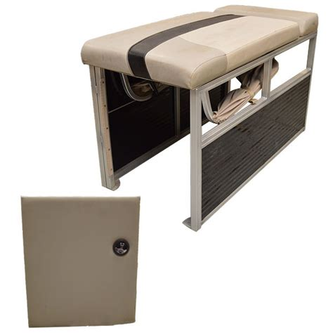 custom pontoon boat seat pop up privacy curtain changing