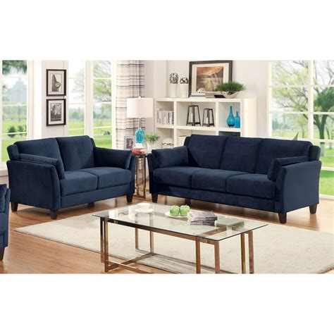 Furniture Of America Sophea Flannelette 2piece Sofa Set