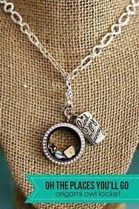 (origami owl) oh the places you'll go living locket - See
