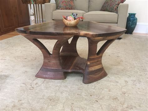 Restaurant tables, custom tables, desks, standing desks, cafe tables, benches,bar stools and more offered in our etsy. Buy a Custom Hand Sculptured Solid Walnut Coffee Table, made to order from Hess Wood Creations ...