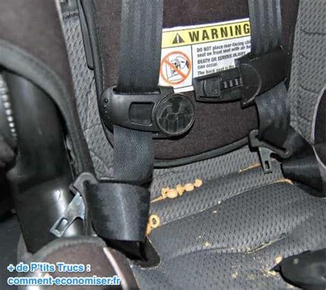 comment attacher siege auto comment nettoyer un siège auto facilement et rapidement