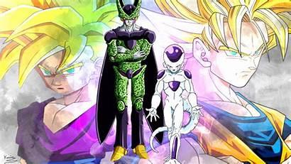 Gohan Cell Goku Dragon Ball Deviantart Freeza