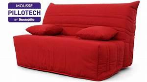 banquette bz rouge 2 personnes matelas dunlopillo canape bz With tapis rouge avec canapes bz