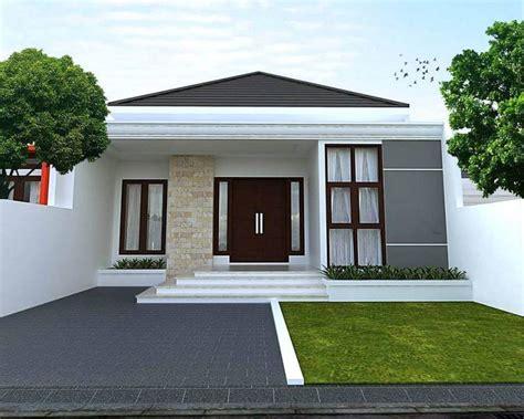 79 contoh model teras rumah minimalis sederhana terbaru