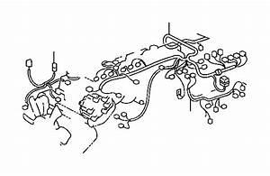 Lexus Lx 450 Wire  Engine  Door  Cable  Bond
