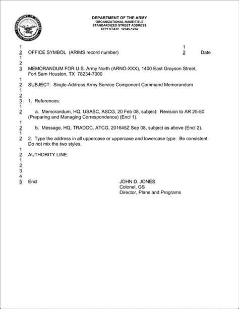 Us Army Memorandum For Record Template by Army Memorandum Template