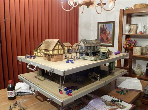 d and d table battletop game table from crystal caste releases